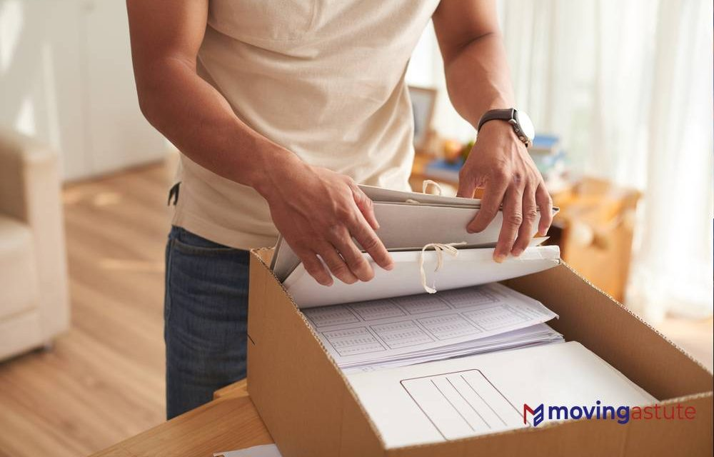 Moving Paperwork – Important Moving Documents and Forms
