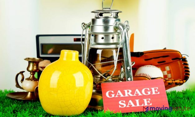 How To Organize A Garage Sale Before Moving?