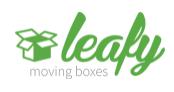 Leafy Moving Boxes logo