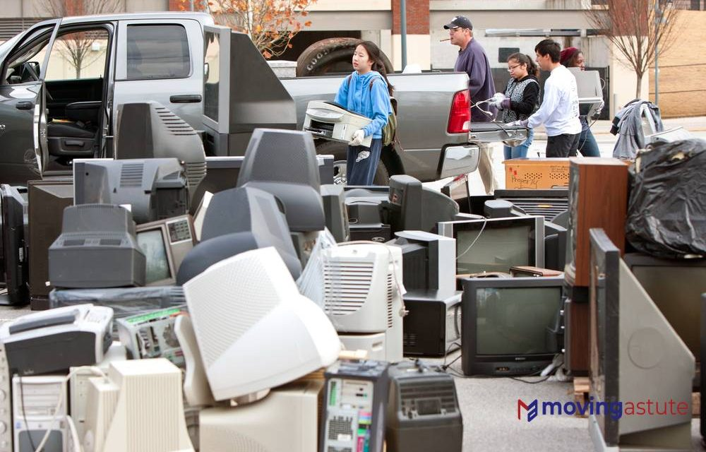 Where To Donate Electronics Before You Move?