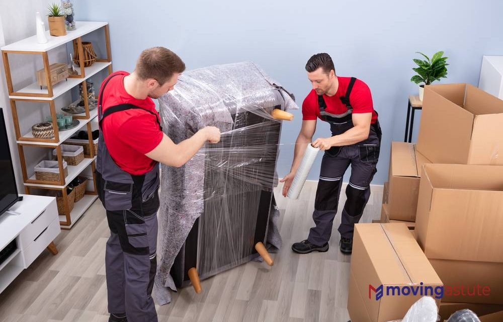 How To Use Plastic Wrap For Moving?